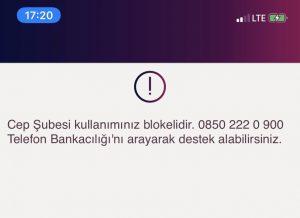 Finansbank Sim Kart Bloke Kaldırma
